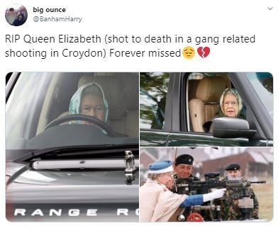 Vehicle door - big ounce @BanhamHarry RIP Queen Elizabeth (shot to death in a gang related shooting in Croydon) Forever missed RANG E R