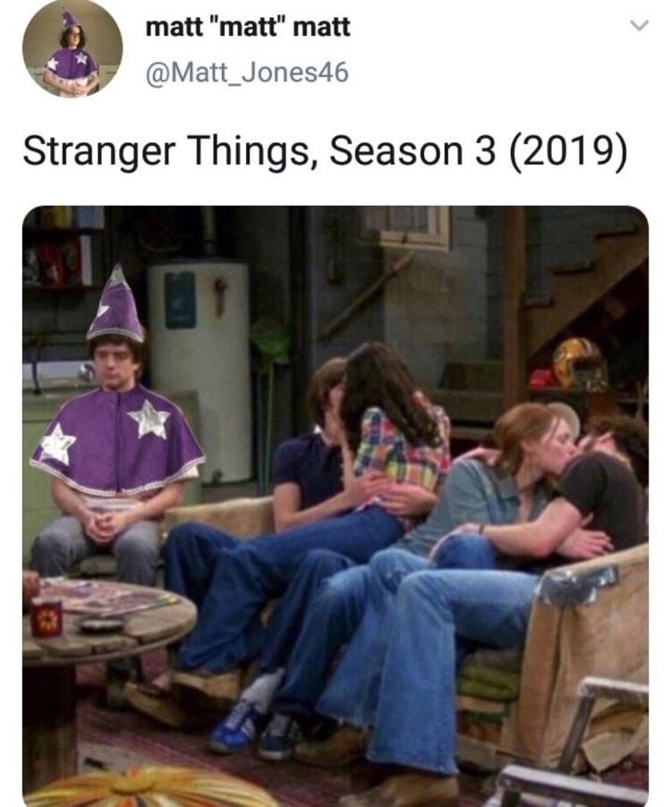 """Community - matt """"matt"""" matt @Matt_Jones46 Stranger Things, Season 3 (2019)"""