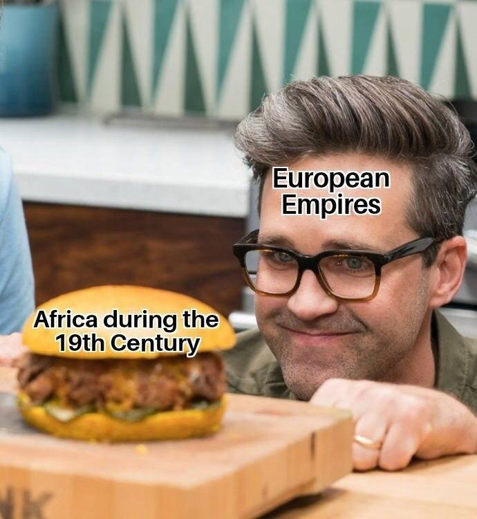 Junk food - www European Empires Africa during the 19th Century