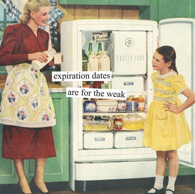 Clothing - expiration dates RLS are for the weak