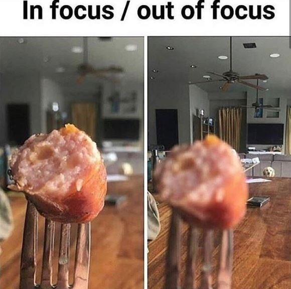 Food - In focus / out of focus