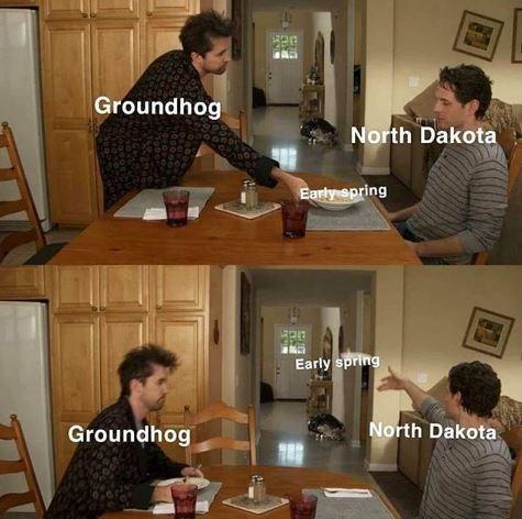 Property - Groundhog North Dakota Early spring Early spring North Dakota Groundhog