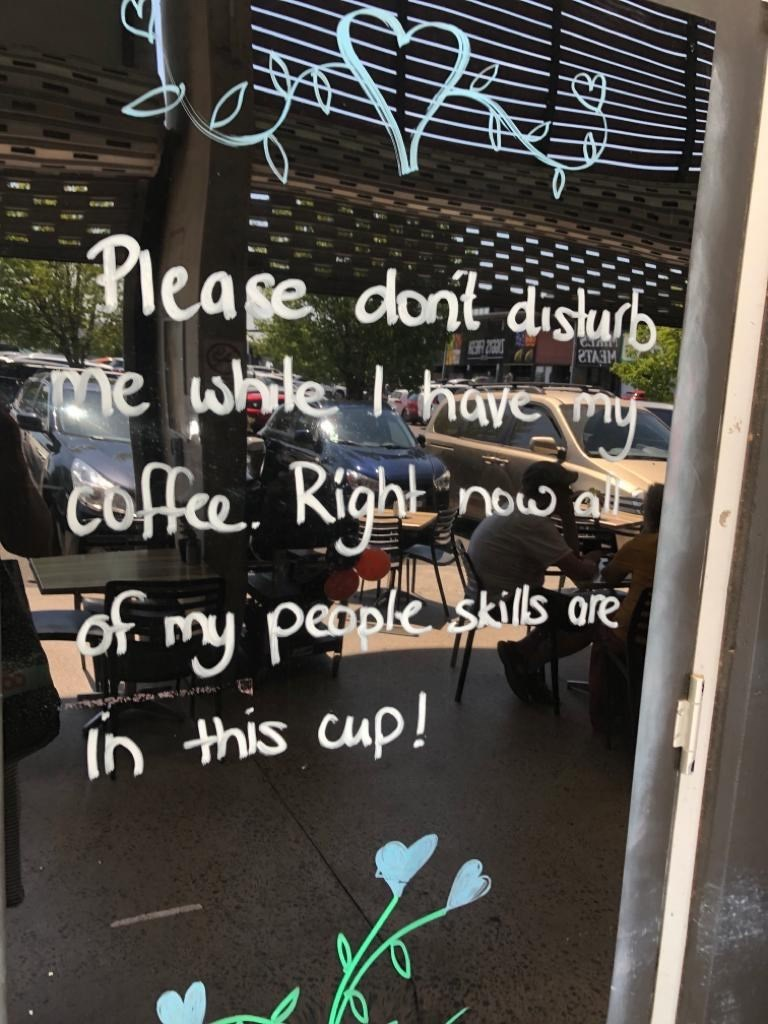 Text - lease dont disurb me while lehave m ЕТАЗМ coffe Right now al peaple skills ore of my in this cup!