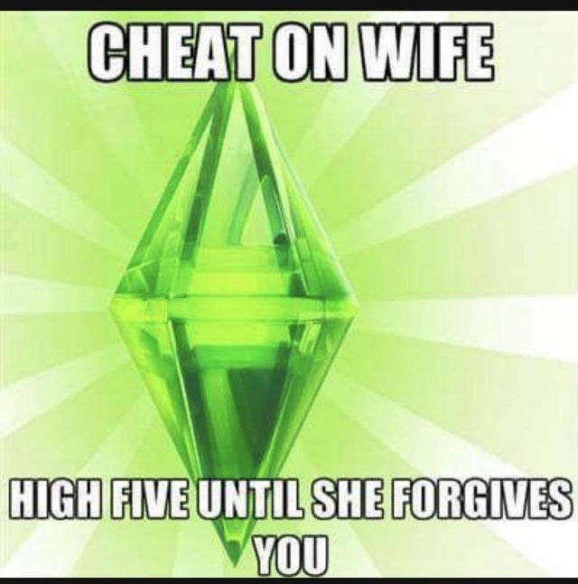 Green - CHEAT ON WIFE HIGH FIVE UNTIL SHE FORGIVES YOU