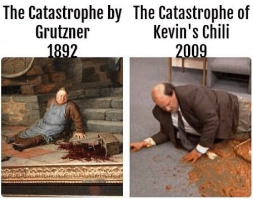 Adaptation - The Catastrophe by The Catastrophe of Kevin's Chili 2009 Grutzner 1892