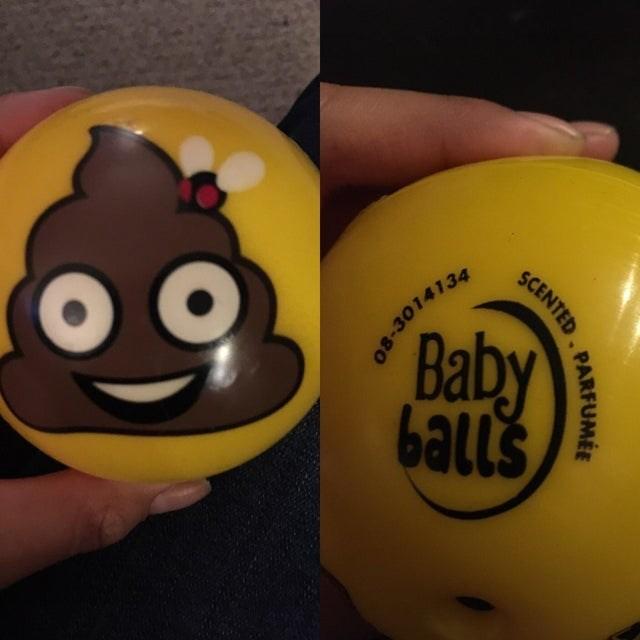 Yellow - 60, Baby balls 08-3014134 PARFUMÉE SCENTED