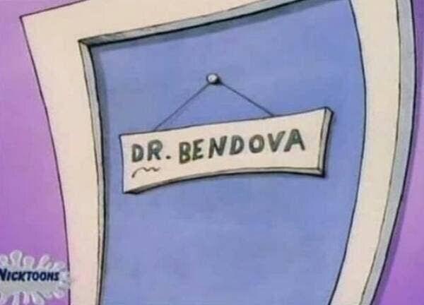 Text - DR. BENDOVA Niсктооня