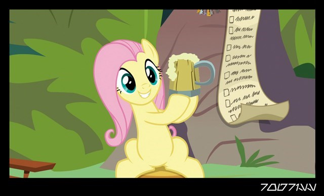 screencap fluttershy she talks to angel - 9401471488