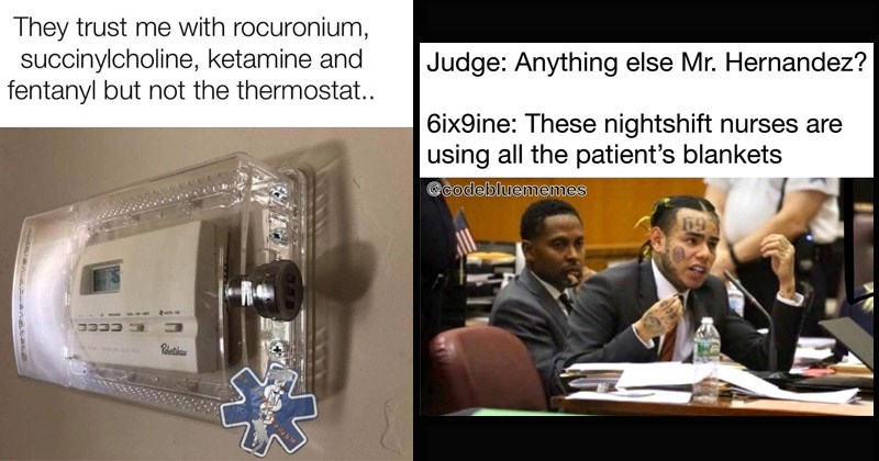 Funny memes about nursing and the medical profession