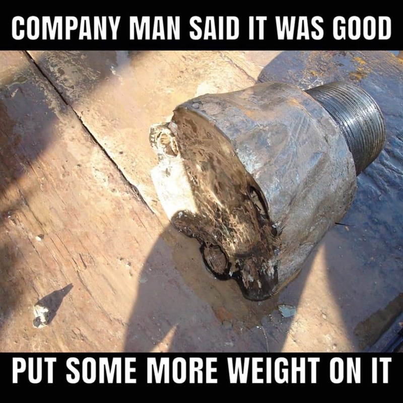 Auto part - COMPANY MAN SAID IT WAS GOOD PUT SOME MORE WEIGHT ON IT
