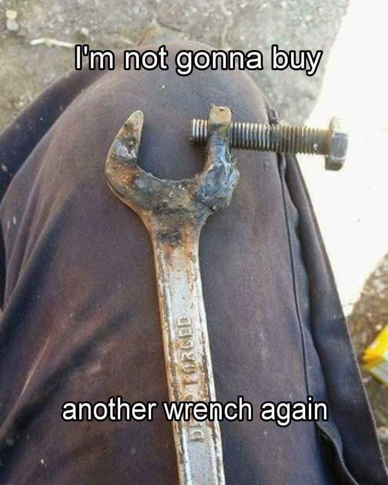 Sword - I'm not gonna buy another wrench again