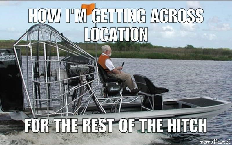 Water transportation - HOW I'M GETTING ACROSS LOCATION pANTHER FOR THE REST OF THE HITCH mematic.net