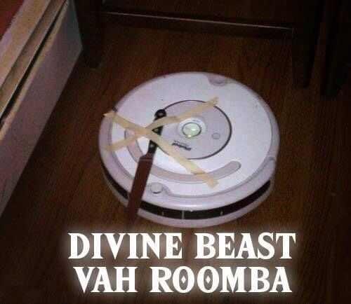 Circle - DIVINE BEAST VAH ROOMBA