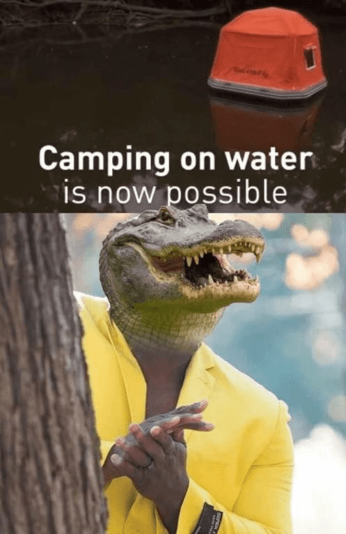 Adaptation - Camping on water is now possible