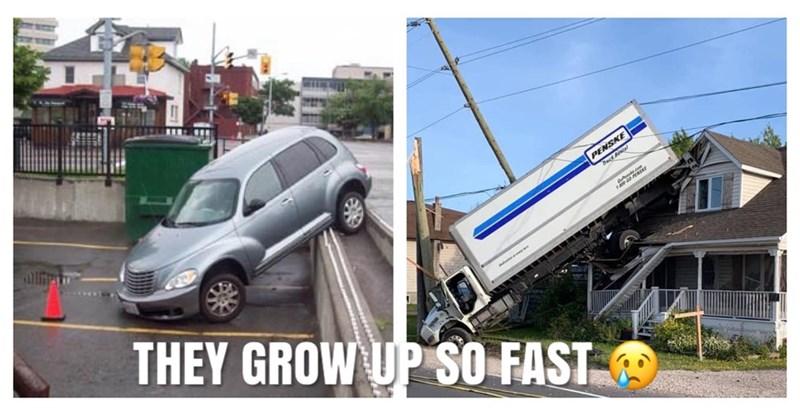 Vehicle - lli PENSKE THEY GROW UP SO FAST