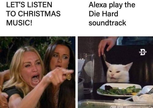 Organism - Alexa play the Die Hard LET'S LISTEN TO CHRISTMAS MUSIC! soundtrack