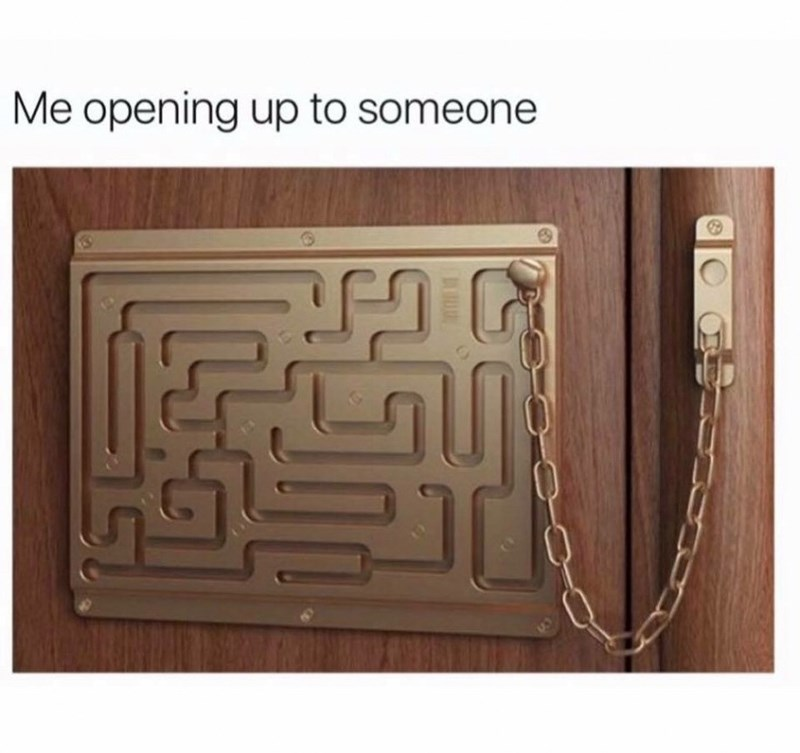 Toy - Me opening up to someone