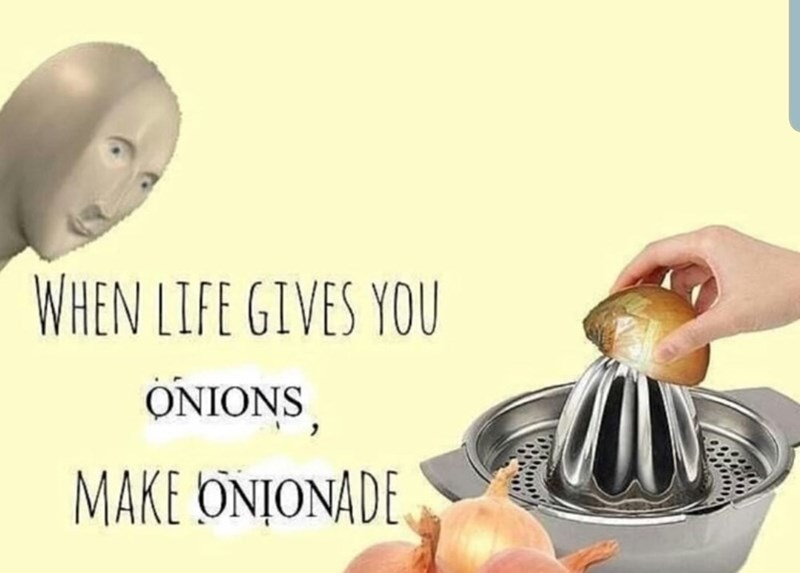 Food - WHEN LIFE GIVES YOU ONIONS MAKE ONJONADE