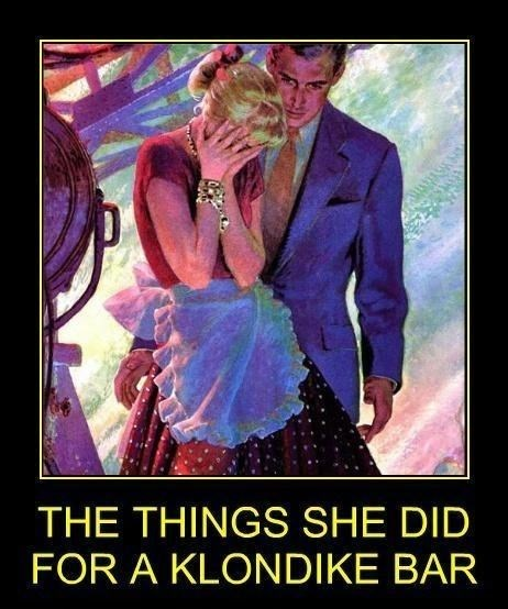 Poster - THE THINGS SHE DID FOR A KLONDIKE BAR