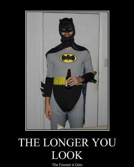 Batman - THE LONGER YOU LOOK The Funnier it Gets