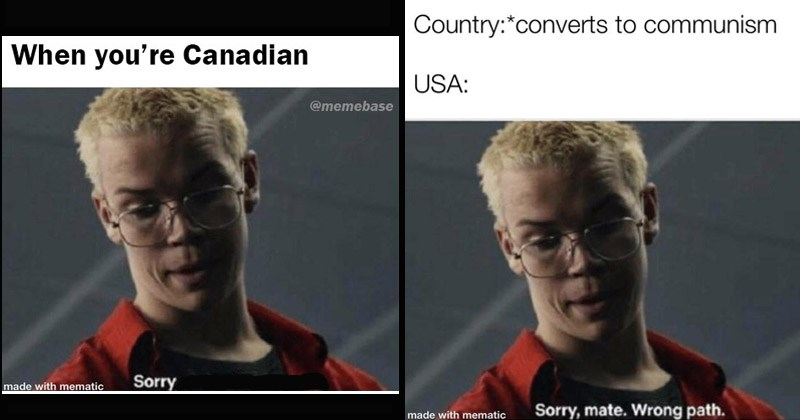 """Funny 'Bandersnatch' memes entitled, """"Sorry Mate, Wrong Path"""""""