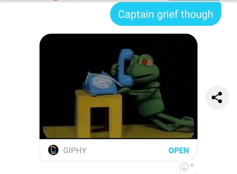 Product - Captain grief though O GIPHY OPEN GIPHY