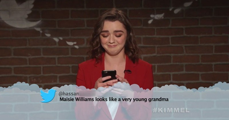 A collection of mean tweets that roasted various celebrities to their very core.