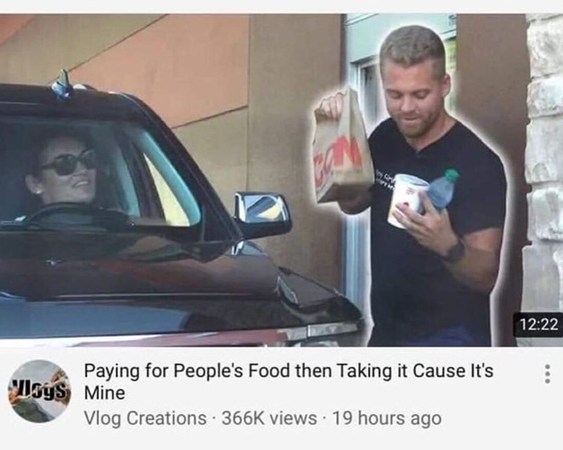 Vehicle door - 12:22 Paying for People's Food then Taking it Cause It's Isys Mine Vlog Creations · 366K views 19 hours ago