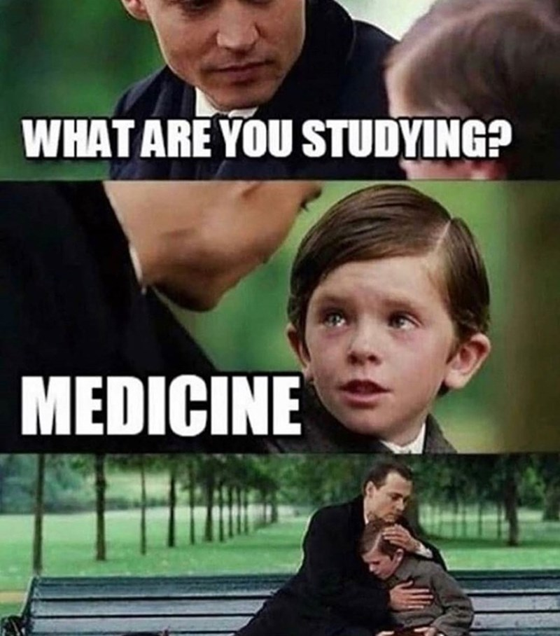 Photo caption - WHAT ARE YOU STUDYING? MEDICINE