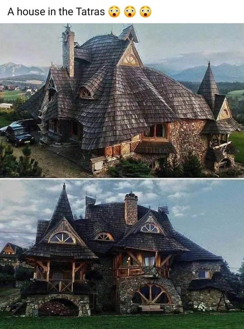 House - A house in the Tatras