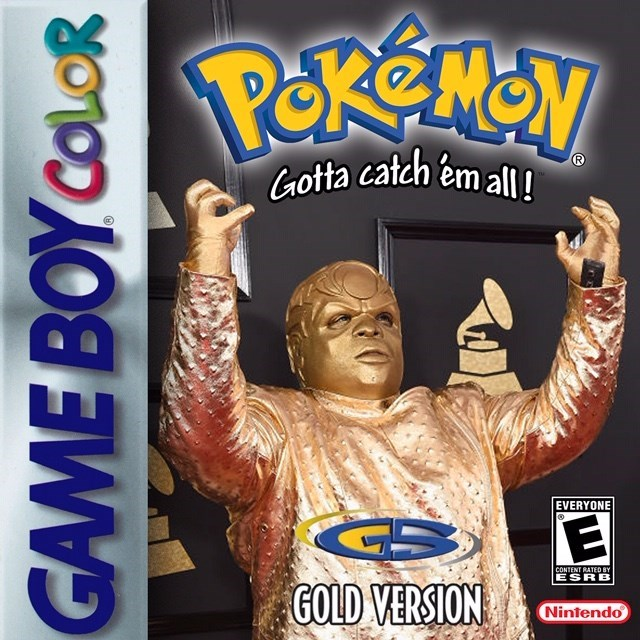 Technology - Gotta catch em all! EVERYONE CONTENT RATED BY ESRB GOLD VERSION Nintendo GAME BOY COLOR