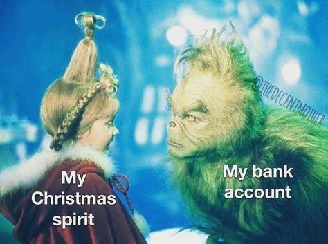 Friendship - OTHEDECENTMOTHE My bank account My Christmas spirit