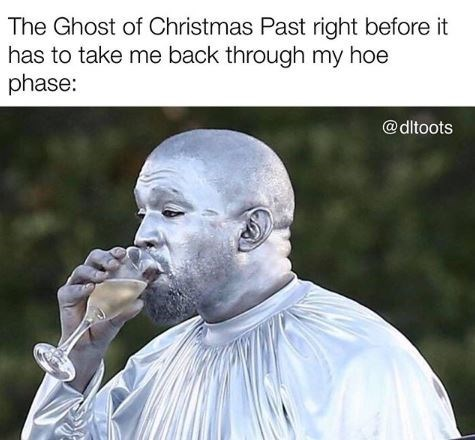 Nose - The Ghost of Christmas Past right before it has to take me back through my hoe phase: @dltoots