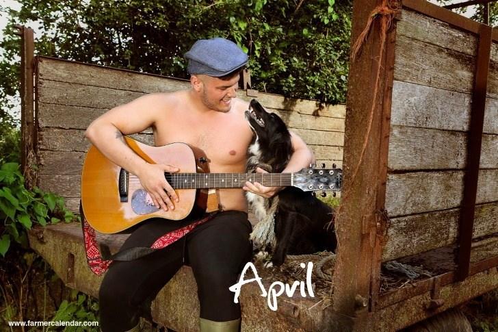 Musician - Apil www.farmercalendar.com