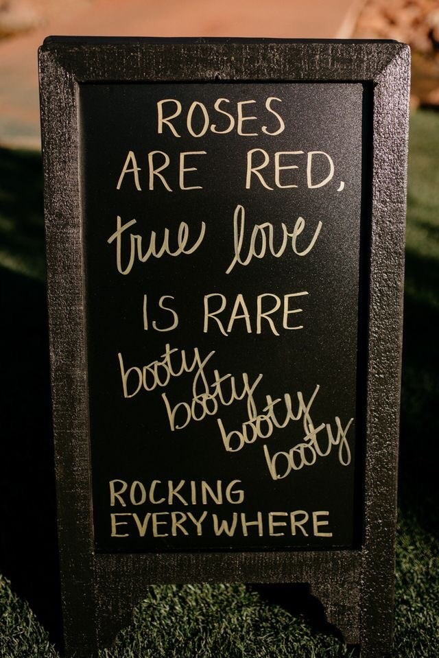 Headstone - ROSES ARE RED, true love IS RARE booty botty bobty baty ROCKING EVERYWHERE