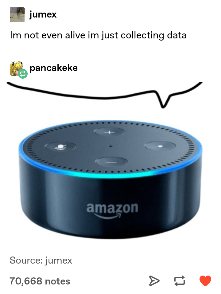 Product - jumex Im not even alive im just collecting data pancakeke amazon Source: jumex 70,668 notes