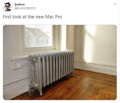 Product - Andrzo @ELANDREOCS First look at the new Mac Pro
