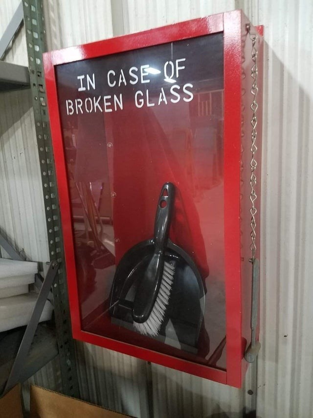 Tire - IN CASE OF BROKEN GLASS