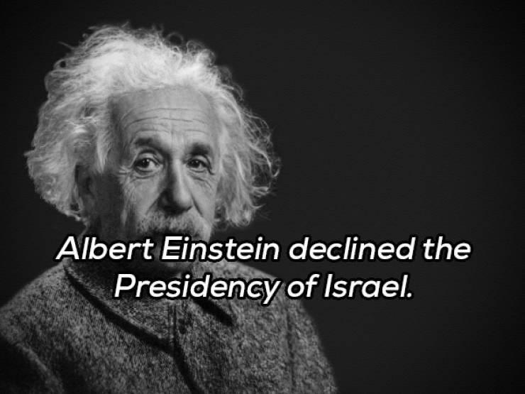 Text - Albert Einstein declined the Presidency of Israel.