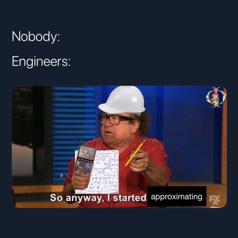 Font - Nobody: Engineers: Hle AT APugocirg AA EK So anyway, I started approximating