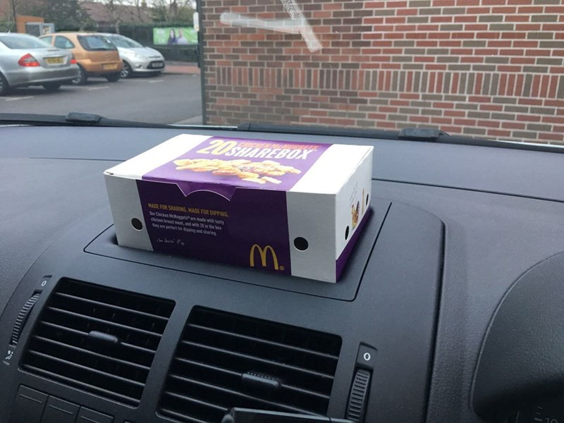 Car - 20SHAREBOX MADE FOR SHARING, MADE FOR DIPPING. Our Chicken Mcuggets are made with tasty dhicken breast meat, and with 20 in the be they a pertect for dioping and sharing M.