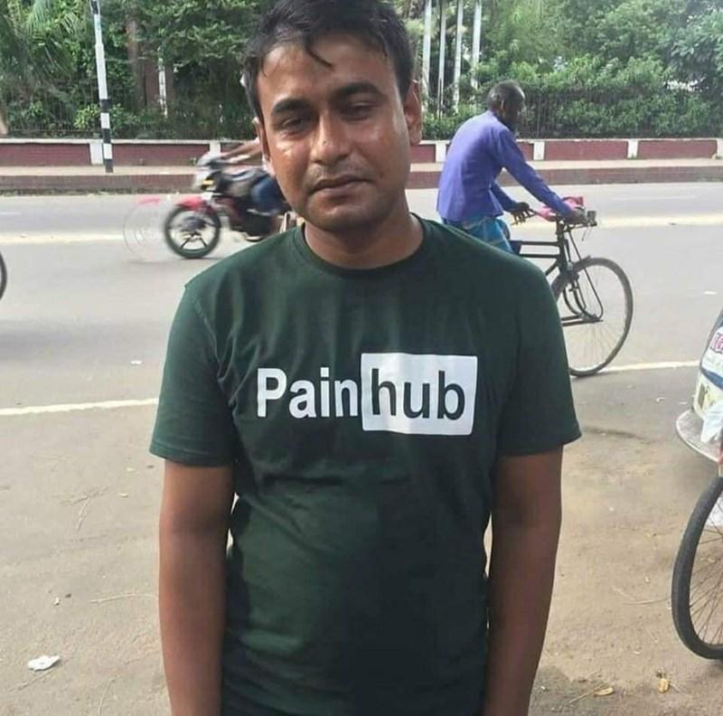T-shirt - Pain hub