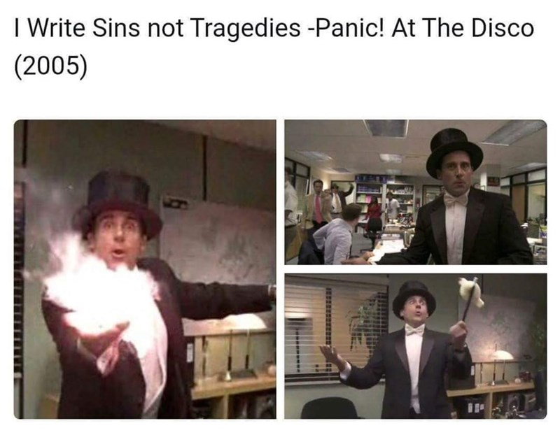 Photography - I Write Sins not Tragedies -Panic! At The Disco (2005)