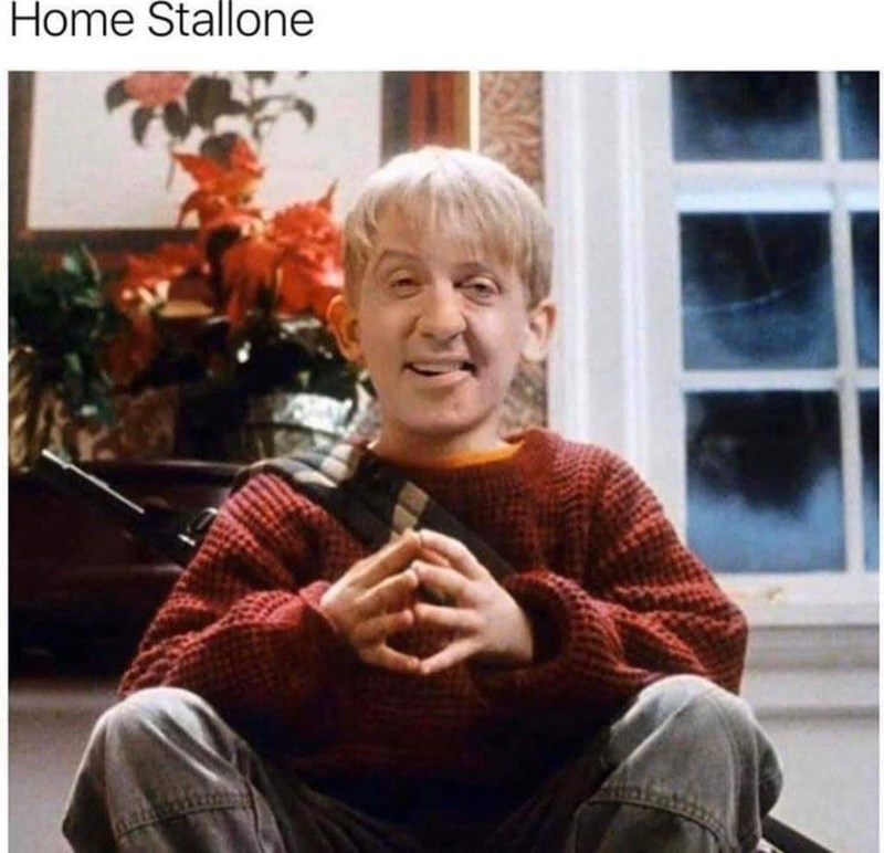 Facial expression - Home Stallone