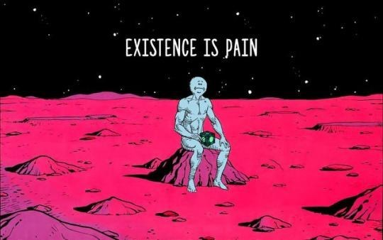 Pink - EXISTENCE IS PAIN