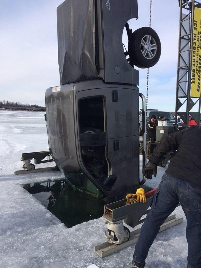 Transport - DWving 218-9 63-4547 ICE RE COVERY UNIT