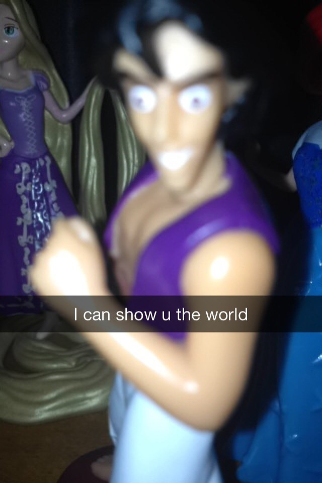 Action figure - I can show u the world