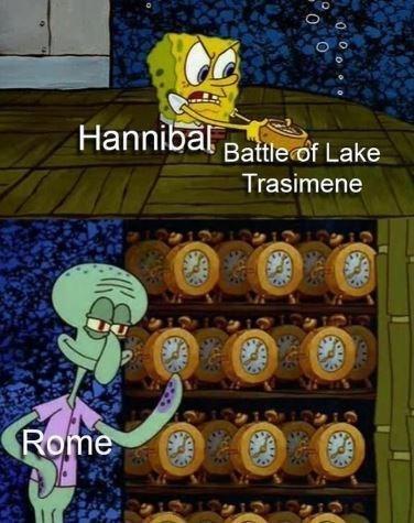 Adventure game - Hannibal Battle of Lake Trasimene Rome
