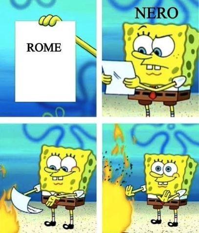 Cartoon - NERO ROME
