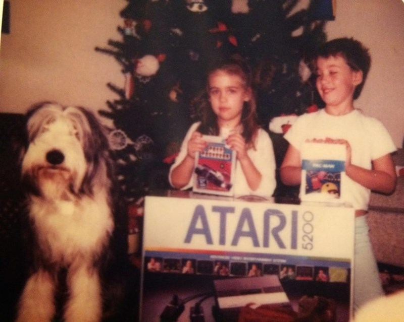 Old english sheepdog - ATARI